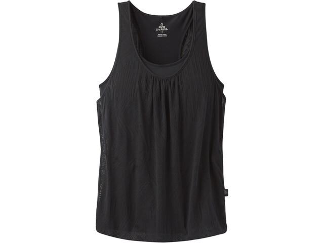 Prana Mika Camisa sin mangas Mujer, black copa